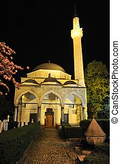 an a beautiful nice mosque
