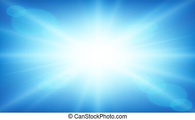 An abstract blue background