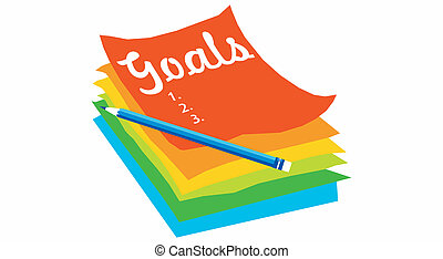 goal concept stock illustrations 81 874 goal concept clip art rh canstockphoto com goal post clipart goal clipart free download