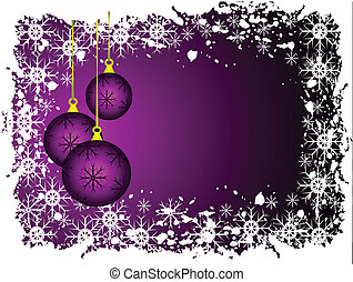 An abstract Christmas background