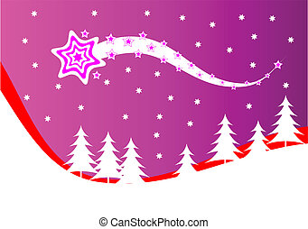 An abstract christmas vector background