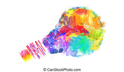 Creative Thinking - An abstract illustration on Creative ...
