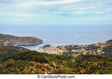 Port de Soller on Mallorca
