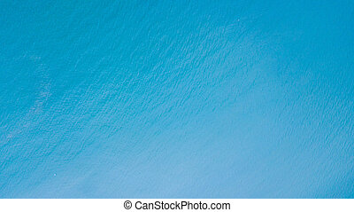 An aerial view of sea
