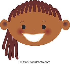 An african american girl