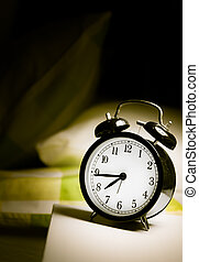 An alarm clock reminds us the start of a new day.