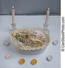 An altar for Imbolc sabbath