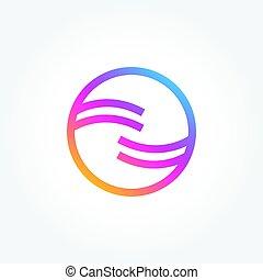 Abstract Symbol Circle