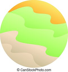 Creative Colorful Circle Symbol Design