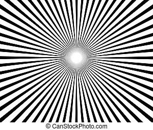 Sunburst Pattern Background - an amazing design of Sunburst...