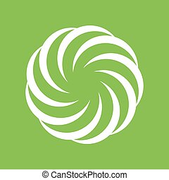 an amazing illustation of Creative Spiral, Circle, Geometric shape symbol
