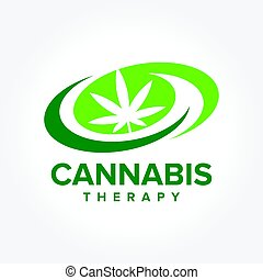an amazing illustration of Marijuana Therapy, Medical and Health care