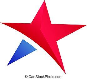 Star Symbol Vector Design