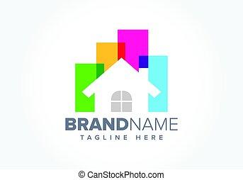 Real Estate Business Symbol illustration
