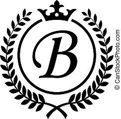 Vintage Letter B Symbol - an amazing Vintage Letter B Symbol