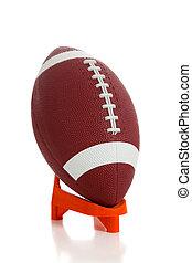 American football and tee