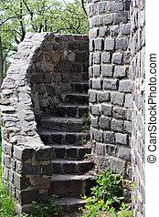 An ancient ladder