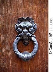 An Antique Door Knocker