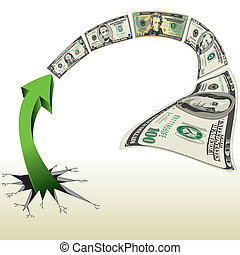 An Arrow Breaks out to Chase Money