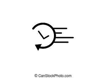 an arrow icon