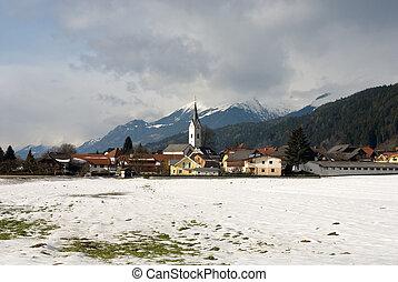 An Austrian Alpine Village