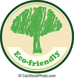 An eco-friendly label