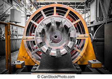 electric power generator - an electric power generator,...