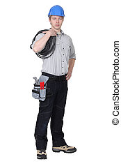 An electrician.