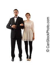 An elegant couple