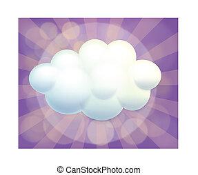 An empty cloud template