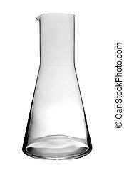 empty laboratory flask