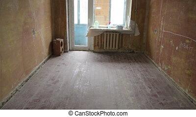 An empty room before recondition 15 - Shot of empty bedroom...