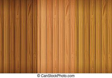An empty wooden board