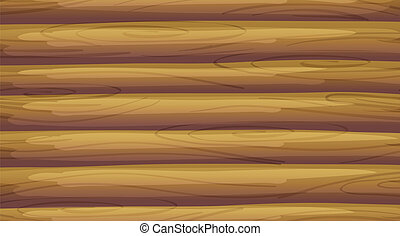 An empty wooden board - Illustration of an empty wooden...