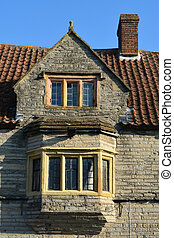 An English house front