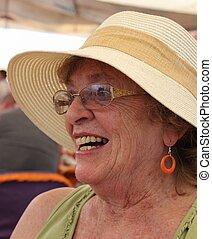 An english lady