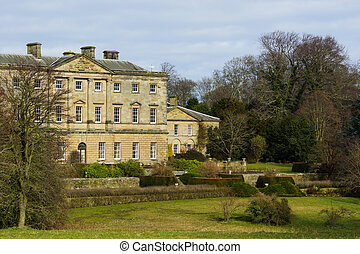 English Stately Home - An English Stately Home
