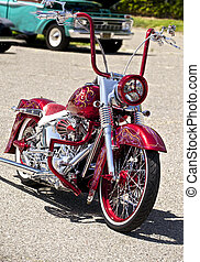 An example of a Bling-Bling style of custom motorcycles