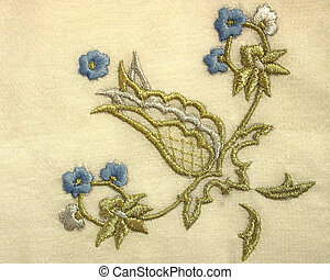 An example of antique needlework