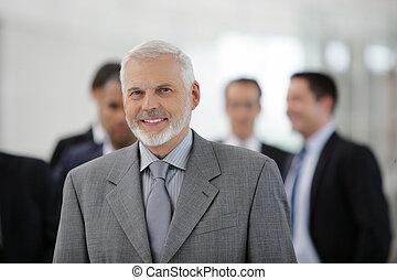 An experienced businessman
