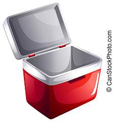 An ice bucket