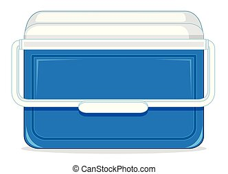 An ice container box