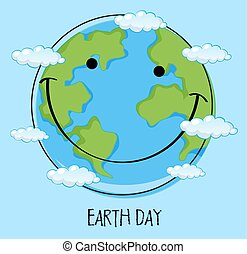 An icon of earth day