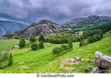An idullic Norwegian place
