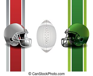 American Football Championship - An illustration for an ...