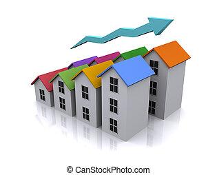 3d real estate icon