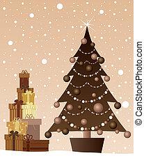 chocolate christmas