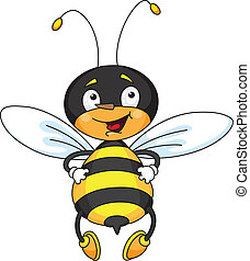 good bee - An illustration of a good bee