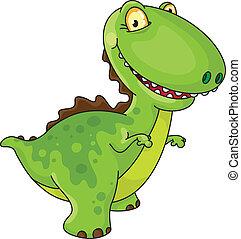 laughing dinosaur