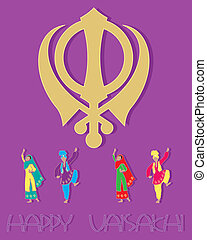 sikh greeting card design
